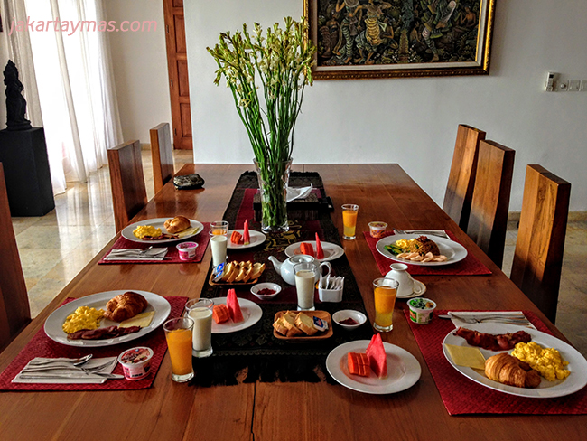 Desayunos en Bali