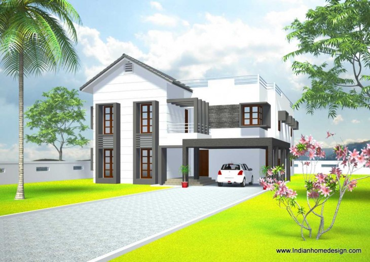 3000 Sq Ft House Front Elevation Exterior Design