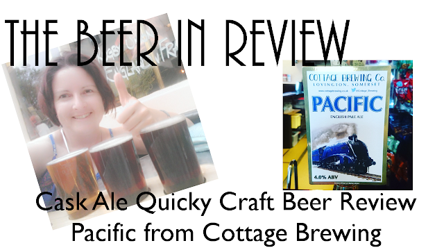 cask ale quicky craft beer review on yourtube