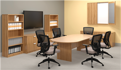Walnut Boardroom Furniture