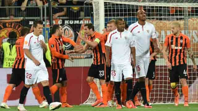 Sevilla vs Shakhtar Donetsk
