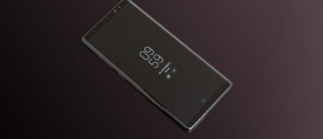 หลุดรูปเรนเดอร์ Samsung Galaxy Note 9 ด้านหน้าหน้าตาเหมือน Galaxy Note 8