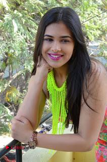 Telugu Actress Prasanna Stills in Short Dress at Inkenti Nuvve Cheppu Press Meet Stills  0116.JPG