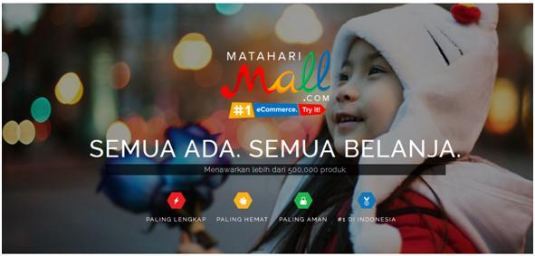 Tagline MatahariMall