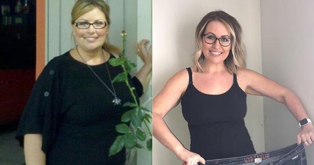 Η γυναίκα που άλλαξε ένα μόνο πράγμα στην διατροφή της και έχασε 42 κιλά