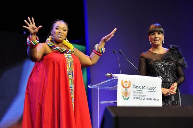 Relebogile Mabotja Hosted The 18th Annual National Teaching Awards