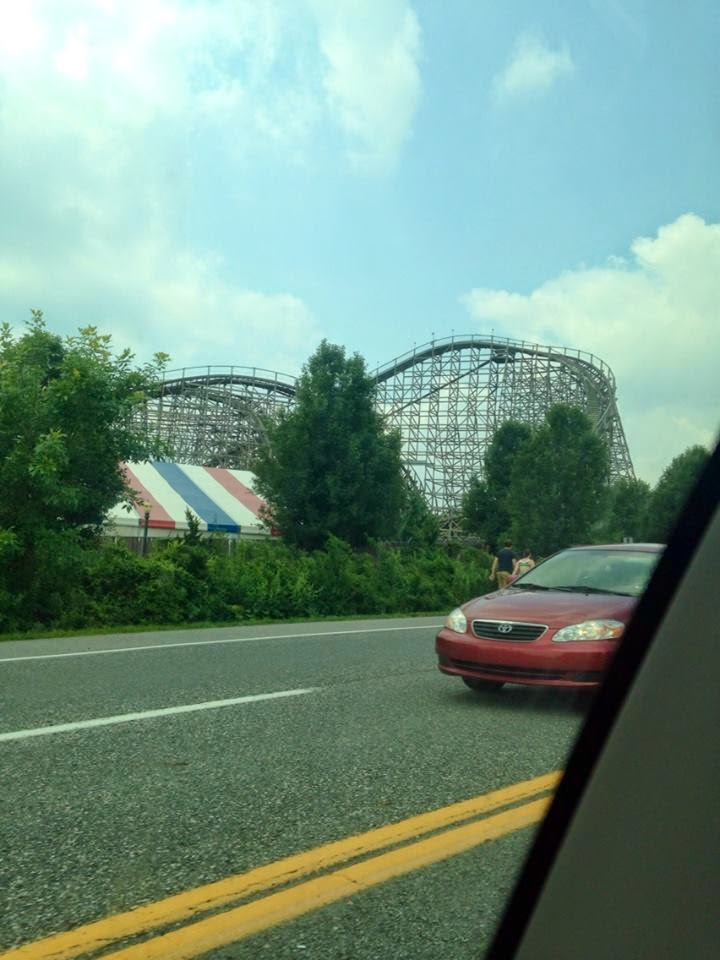 Hershey Park in summer