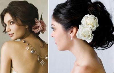 Hoa cài tóc cô dâu cho vẻ đẹp thuần khiết 4