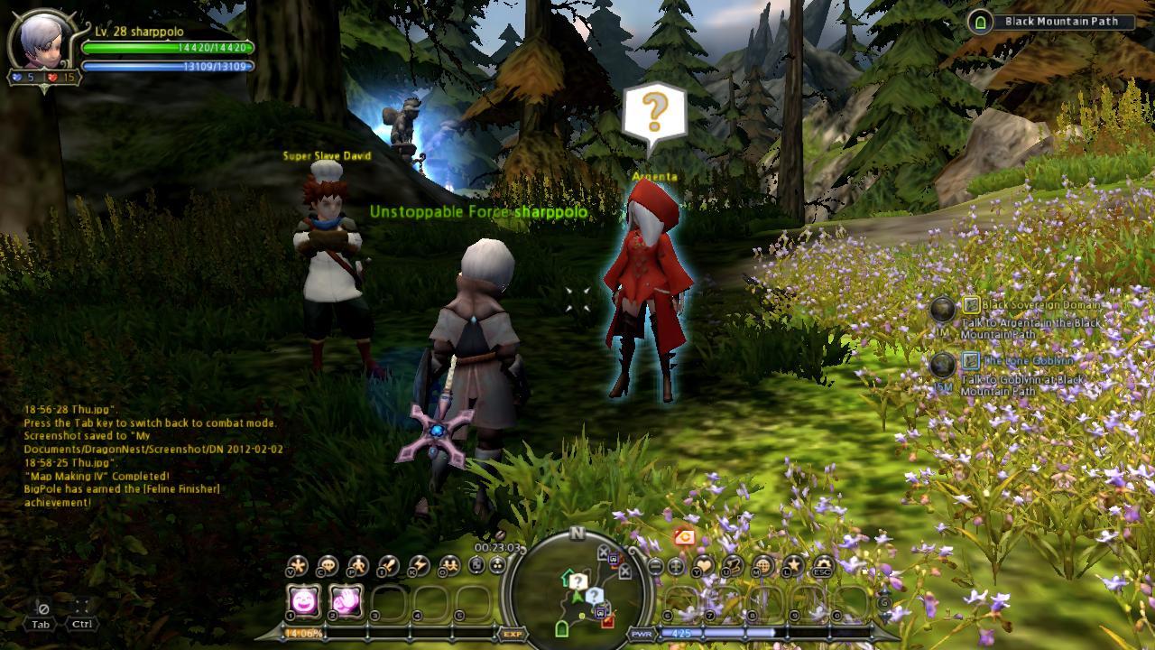 Main Quest] Black Sovereign Domain - Dragon Nest SharpStation
