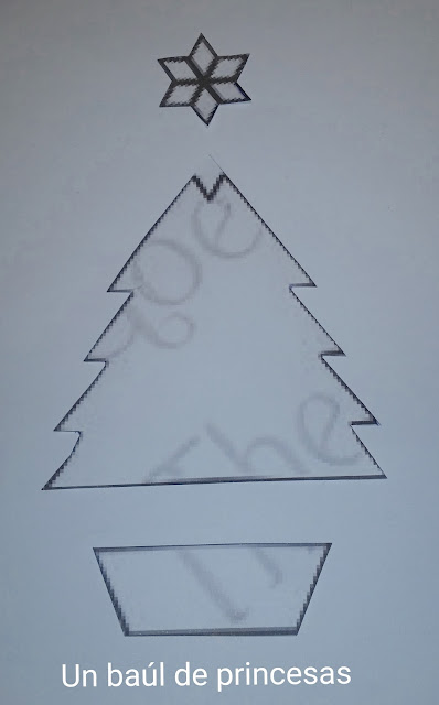Plantilla árbol de navidad
