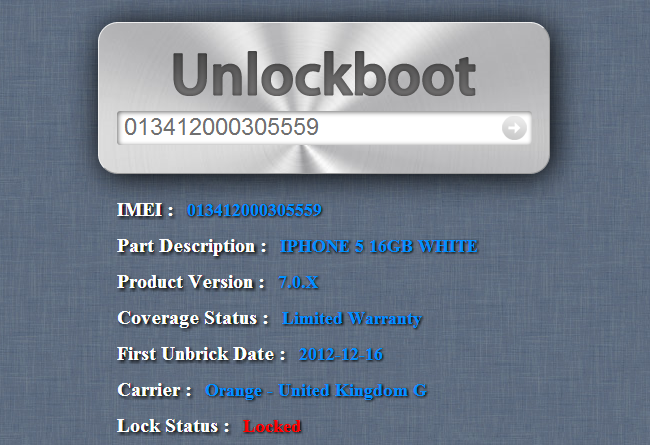 Iphone Simlock Unlock Check