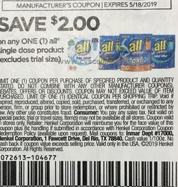 $2/1 All Coupon RMN insert 04/28/19 (EXP: 6/23)