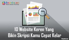 10 Website Keren Yang Bikin Skripsi Kamu Cepat Kelar