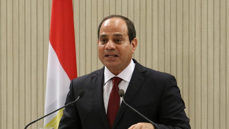 Al-Sisi Pimpin Hasil Awal Pemungutan Suara Pilpres Mesir