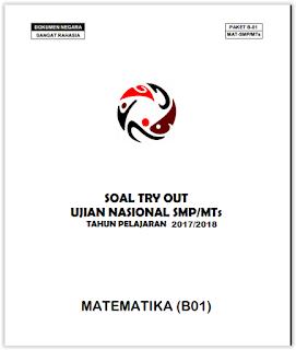 Soal Try Out UN matematika  Pekalongan 2018