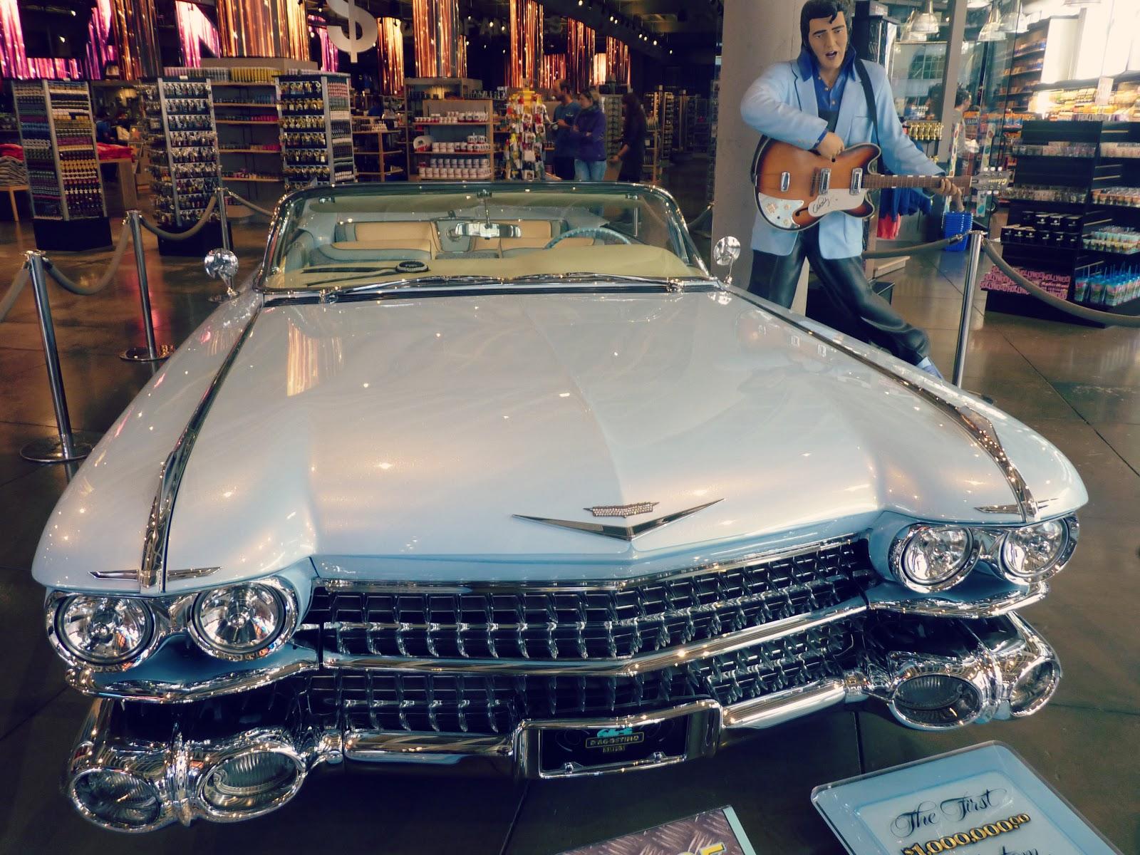 Voiture d'Elvis Presley