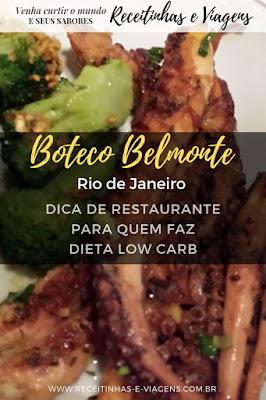 Como comer LowCarb em restaurante no Rio de Janeiro