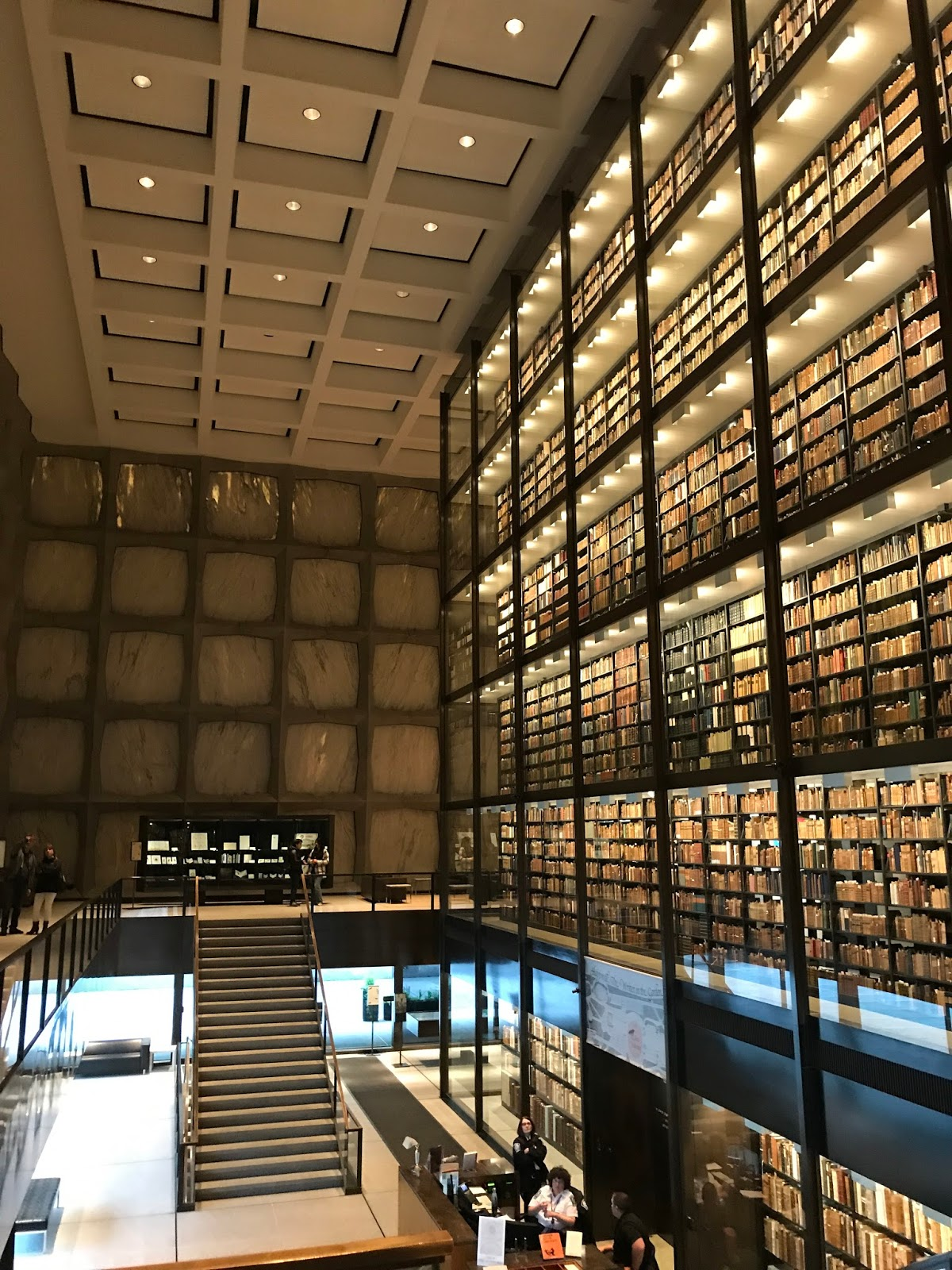 New Haven - Beinecke Rare Book & Manuscript Library