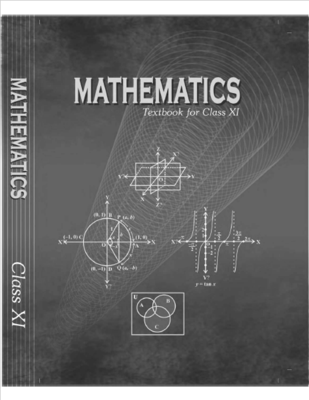 NCERT Mathematics Class-11 : For Englsih Medium Students PDF Book