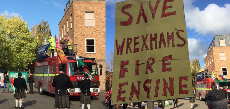 8899be87f48e Proposals to cut one of Wrexham's two whole-time fire engines are back on  the table - just 18 months after a successful campaign to resist similar  plans by ...