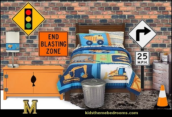 transportation theme bedroom decorating ideas - Planes, trains, cars and trucks decor - transportation bedroom ideas -  transportation vehicles theme bedrooms - tire throw pillows - cars trucks wall decals - transportation bedding - police cars - polce bedding - heroes bedding