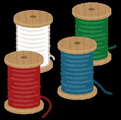 糸巻きのイラスト