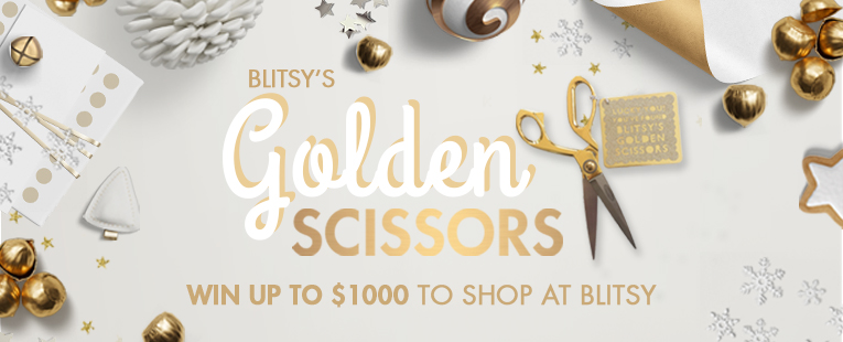 Win $1000 to spend at Blitsy - Golden Scissors
