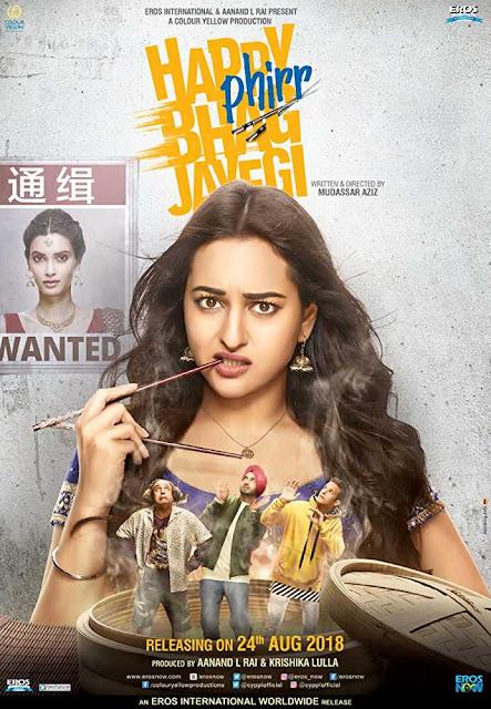 Happy Phirr Bhag Jayegi 2018 Full Hindi Movie Download Hd 720p