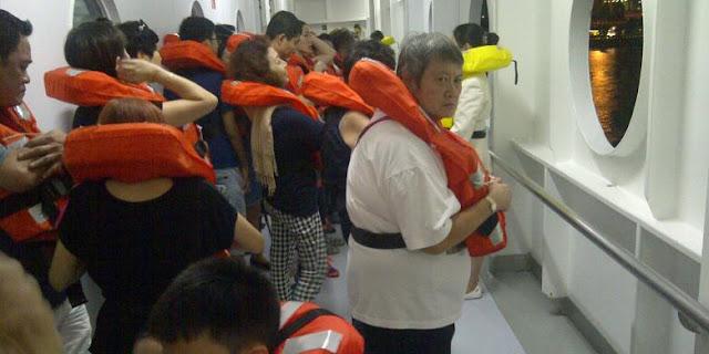 jenis jenis Keadaan Darurat Di Kapal