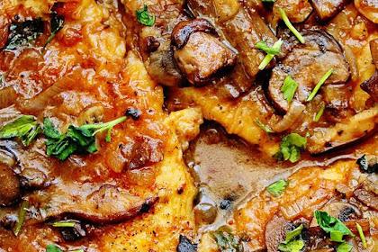 Skinny Chicken Marsala (Healthy Chicken Marsala)