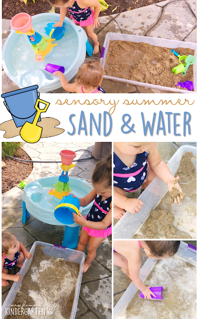 Spice up your sand table or sand filled sensory bin with these 10 play ideas. Perfect activities for summer tot school, preschool, or kindergarten!