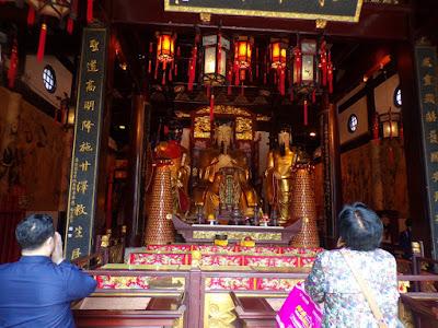 templo dios de la ciudad shanghai