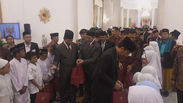 Presiden Jokowi: Ajarkan Anak-anak Kita Watak Rasulullah yang Lemah Lembut