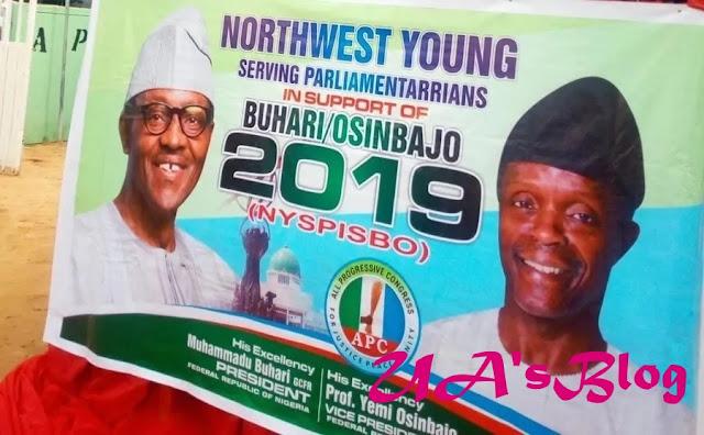 12 senators, 70 Reps storm Kaduna for Buhari/Osinbajo ticket in 2019