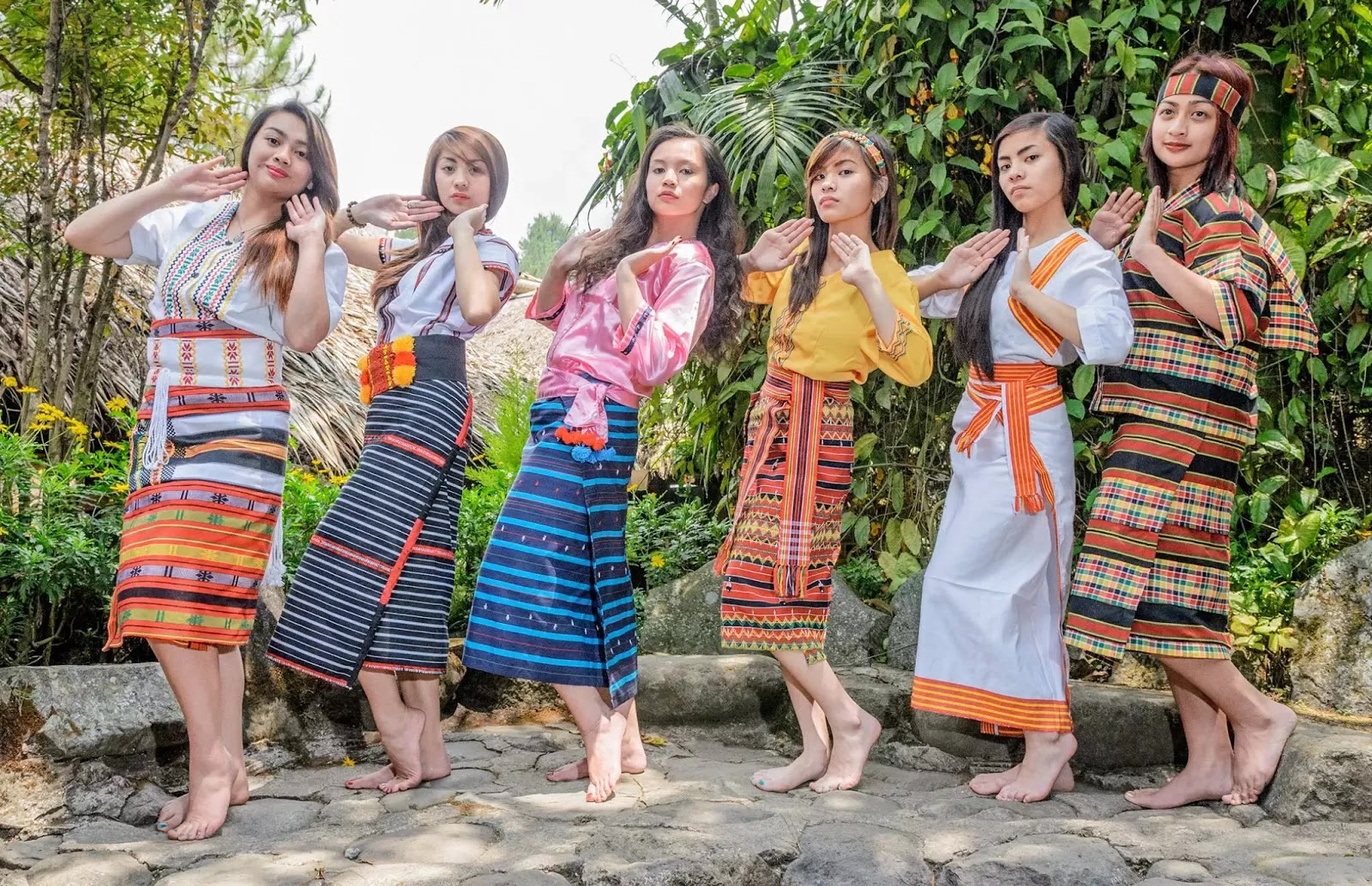 Tam-awan Baguio City Philippines The Colours of Cordillera Ethno-Indigenous Costumes