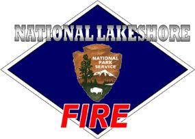 Indiana Dunes National Lakeshore Fire Management logo