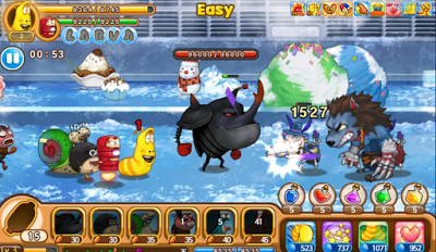 Larva Heroes Episode 2 Mod Apk Data V1.2.3 Unlimited Gold + Candy-screenshot-1