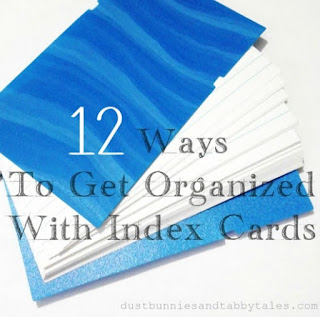 How to Get Organized with Index Cards