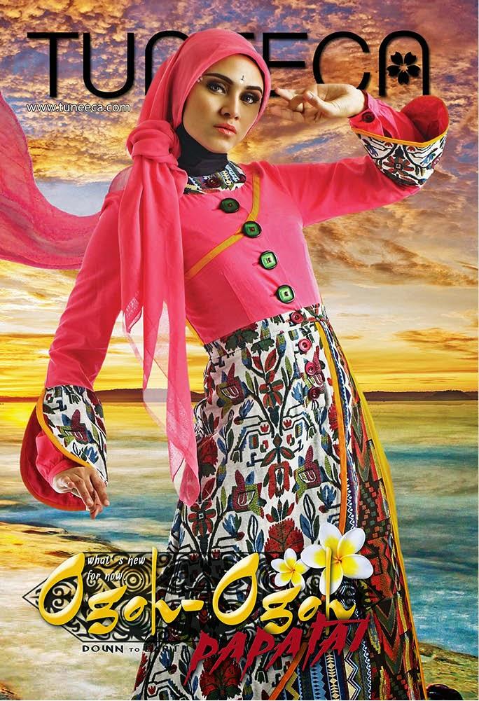 Promosi Katalog Koleksi Baju Muslim Tuneeca Edisi Ogoh Ogoh Papatai