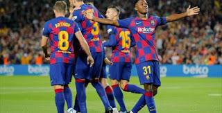 موعد مباراة غرناطة وبرشلونة السبت21-09-2019 في الدوري الاسباني