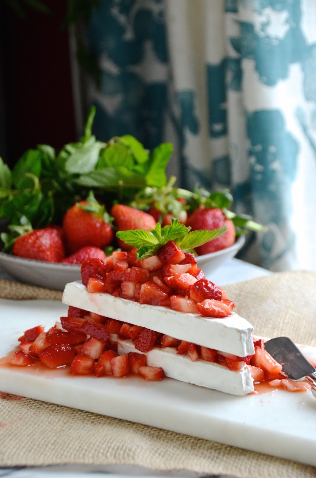 Winonas restaurant bakery category winonas blog i call it strawberry shortcake brie straw brie shortcake for fun and its a play on a classic strawberry shortcake dessert swapping in brie cheese for forumfinder Choice Image