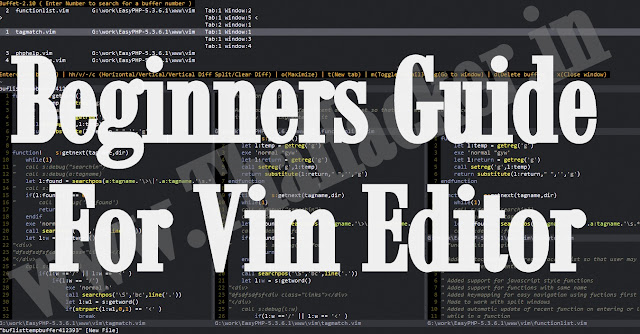 Beginners Guide For Vim Editor With 15 Examples