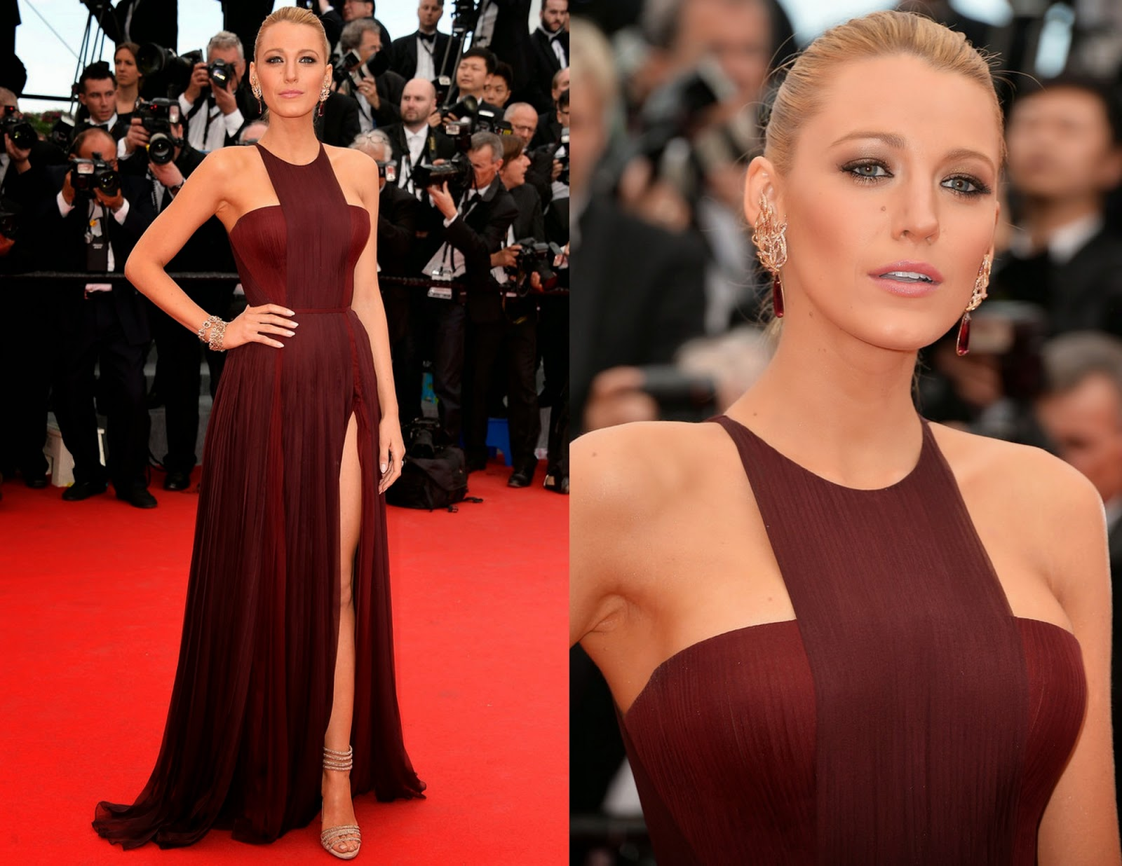 Blake Lively in Gucci, Cannes Film Festival 2014, Cannes fashion, Redcarpet Fashion 2014, Celebrity Fashion, Pakistan Fashion Blog, Top Trends 2014