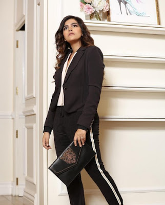 Kritika Khurana on suit