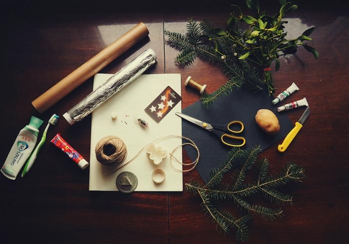 pakowanie prezentów DIY