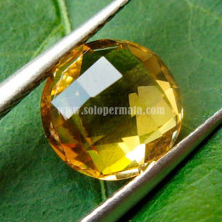 Permata Golden Citrine - A458