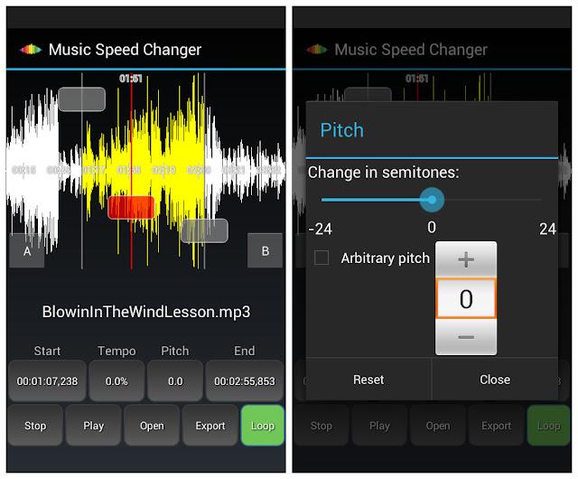 music speed changer pro apk free download