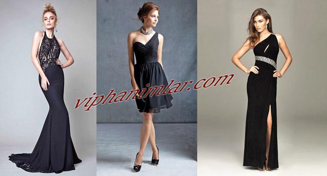Siyah Gece Elbiseleri Nasıl Kombine Edilmeli