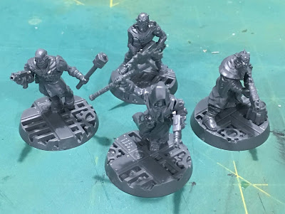 Heretic Astartes Kill Team WIP cultists