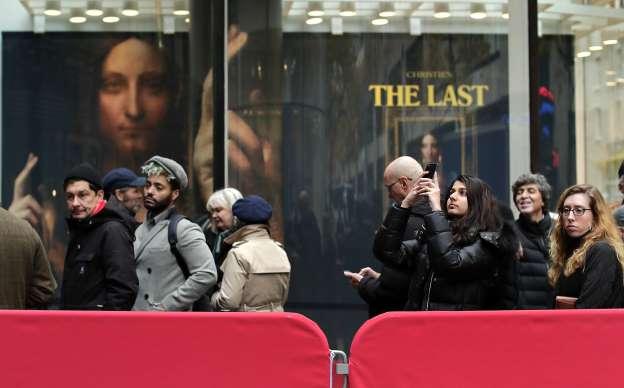 Christ painting by Leonardo da Vinci sells for record $450M